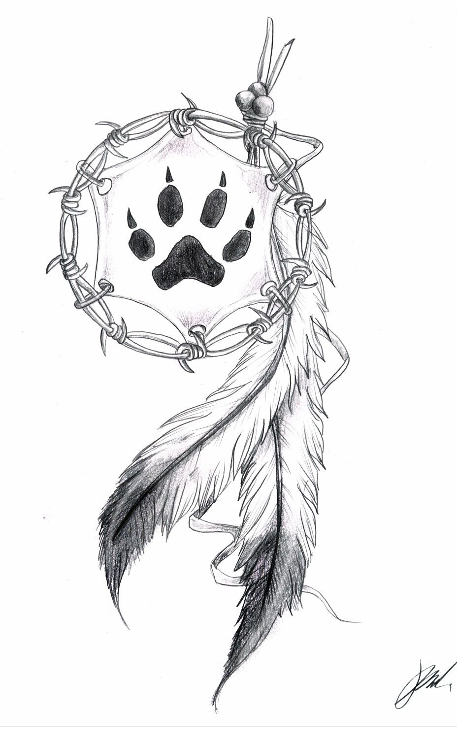 Lineart Wolf Tattoo : With a wolf print tatoo pinterest tattoo and