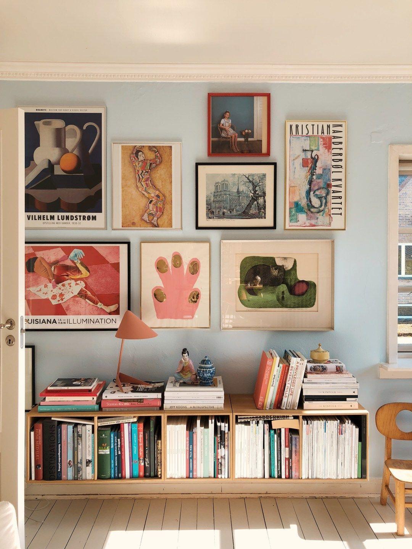 #indretning stue farver