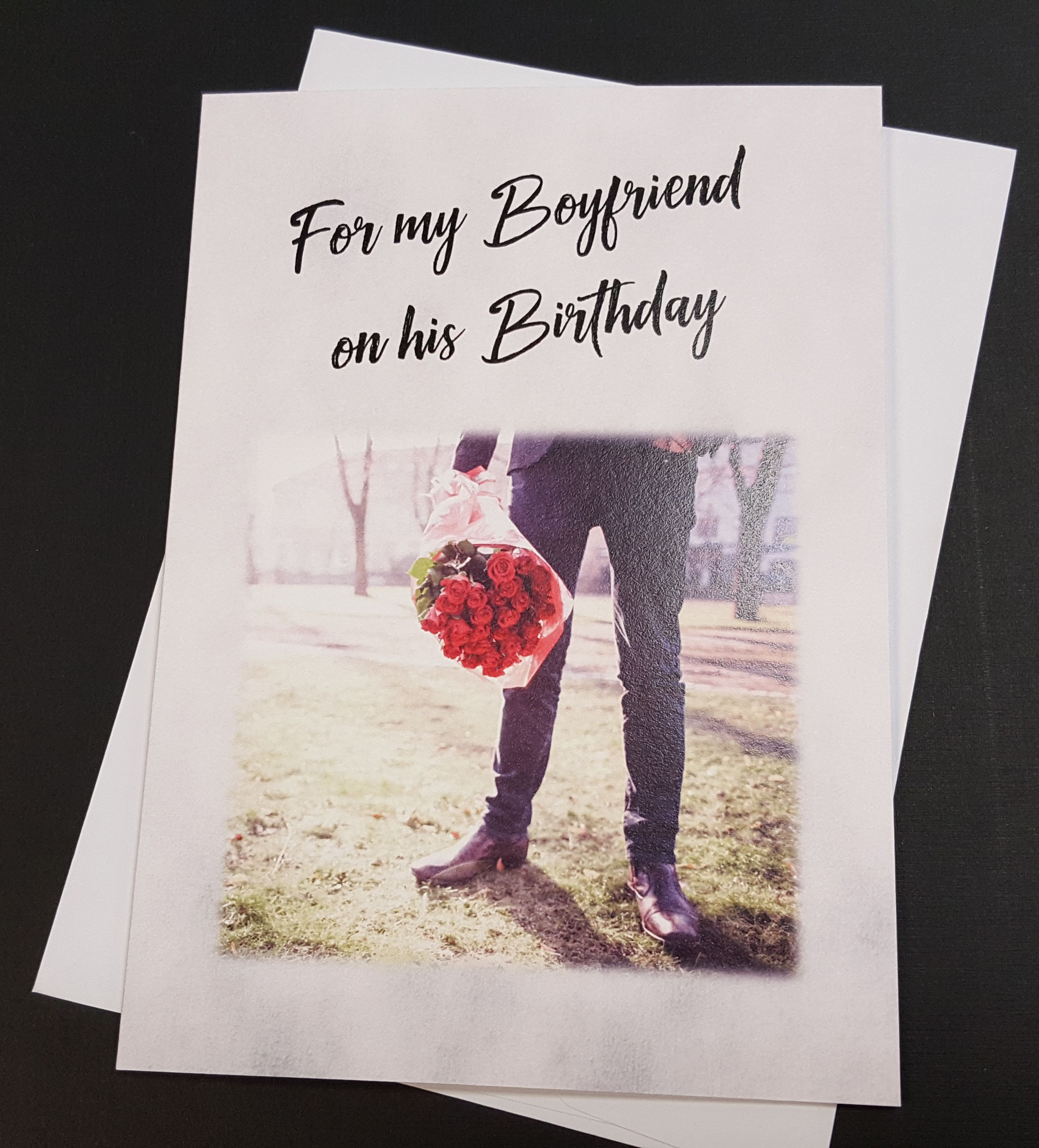 Gay Boyfriend Birthday Card Gay Greeting Card Gay Couple Lgbt