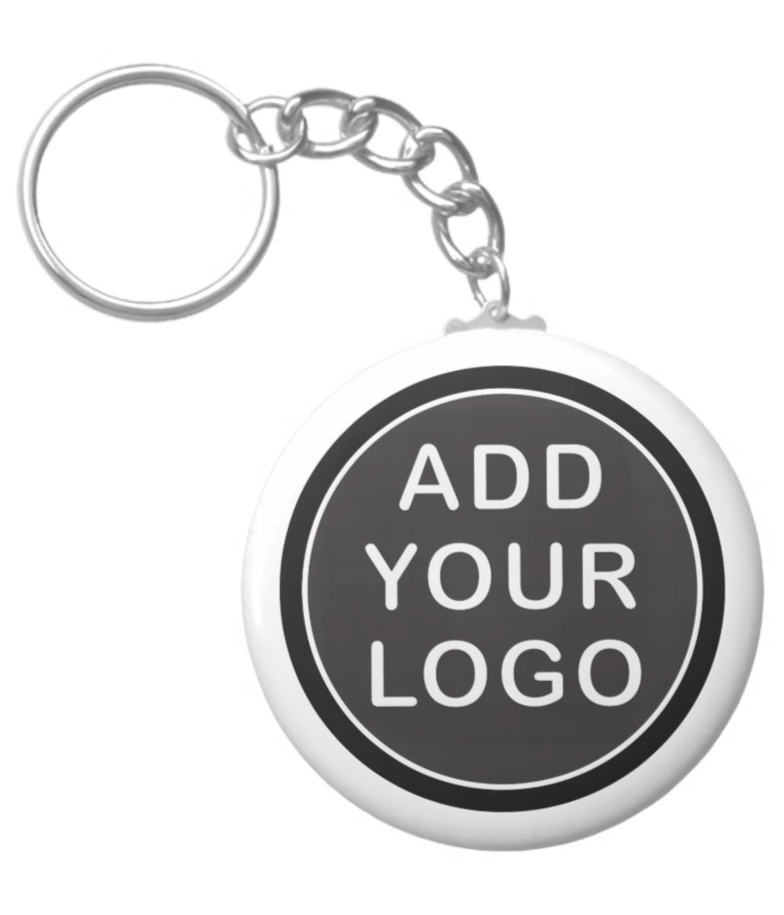 Add your own logo keychain Keychain, Logos, Ads