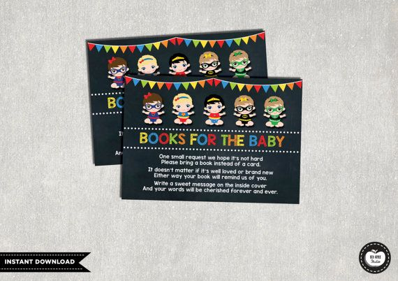 Superhero BOOK REQUEST Printables Card. by RedAppleStudio on Etsy