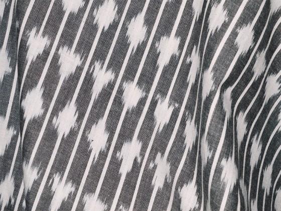 Ikat Fabric Cotton By The Yard Handloom Ikat Cotton Fabric