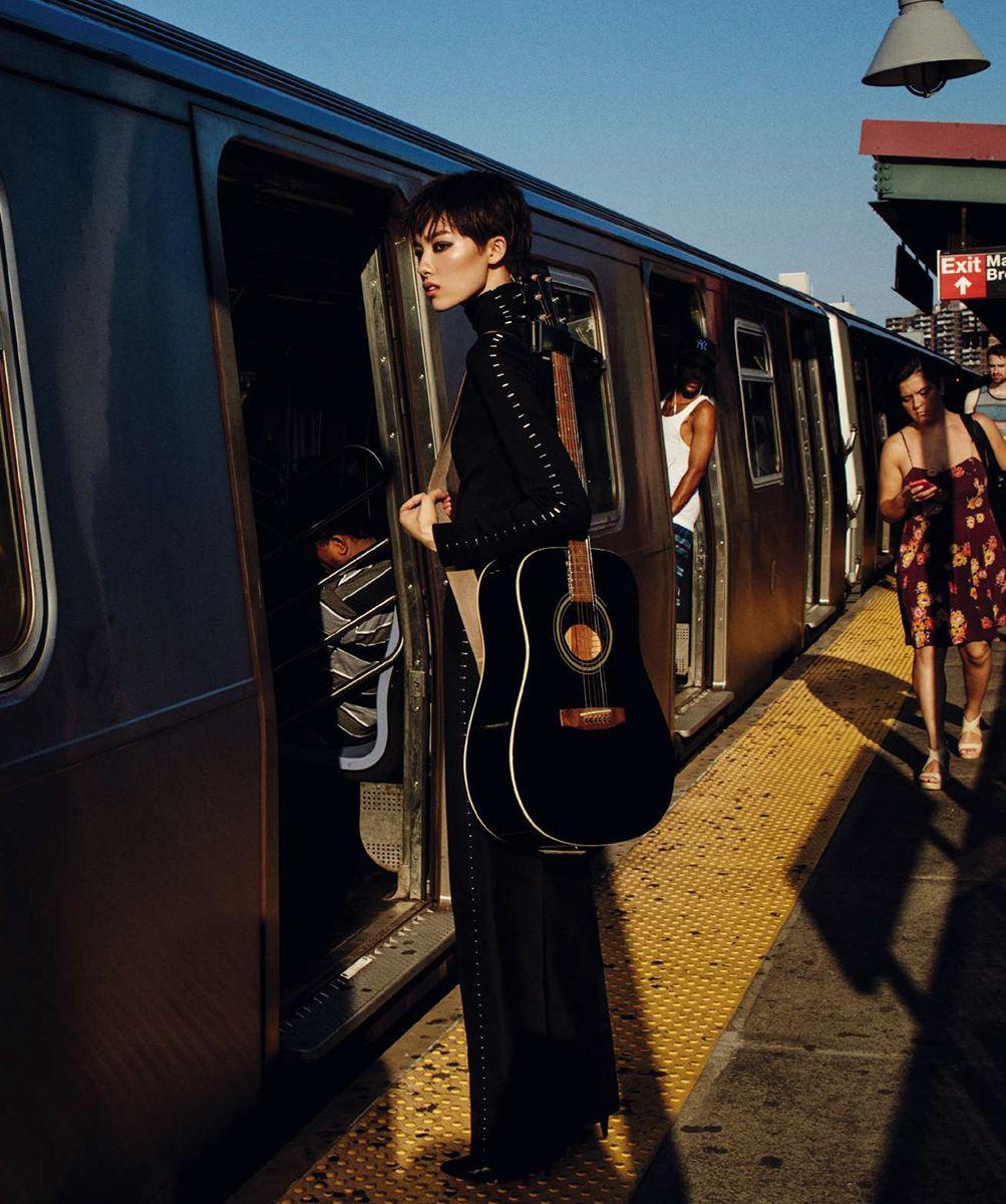 Fei Fei Sun by Txema Yeste for Harper's Bazaar Spain October 2015