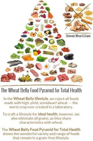 wheat belly food pyramid for total health