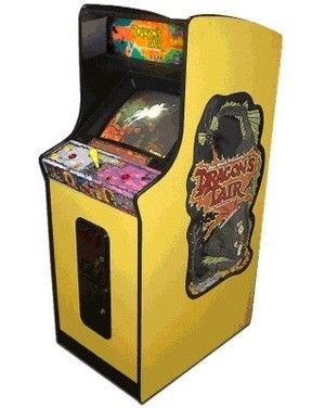 Dragon's Lair arcade cabinet | The Arcade is on Fire | Pinterest ...