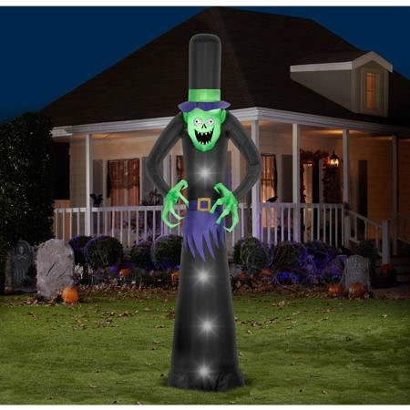 12 airblown inflatables giant blood shot monster halloween decoration walmartcom