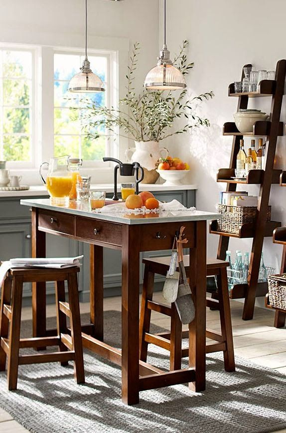 Beautiful Counter Height Table island