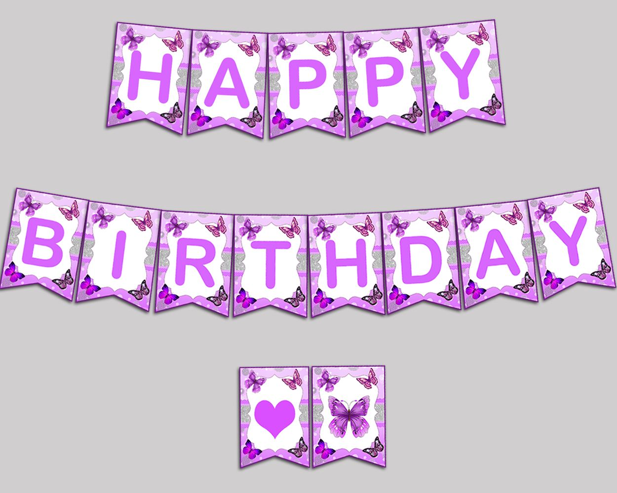 happy birthday girl banner butterfly happy birthday butterfly banner