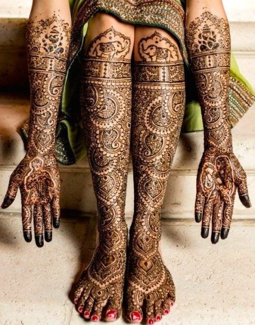 Indian Henna Tattoo Designs: These 24 Dulhan Mehndi Designs Will Make You Look For