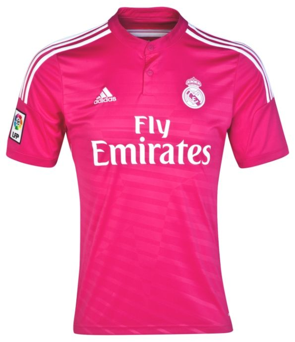 5317b5337a3 Real Madrid Fuchsia Jerseys 2014-2015