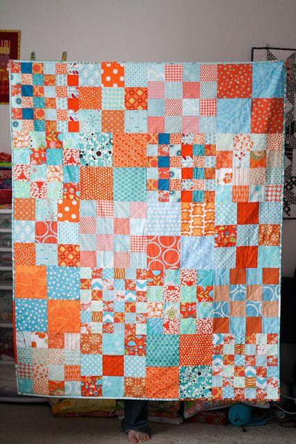 Good mix/match of square blocks.