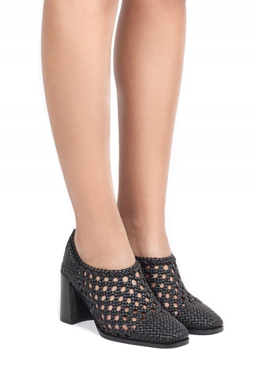 Jeffrey Campbell Shoes ACELINE New Arrivals in Black Weave