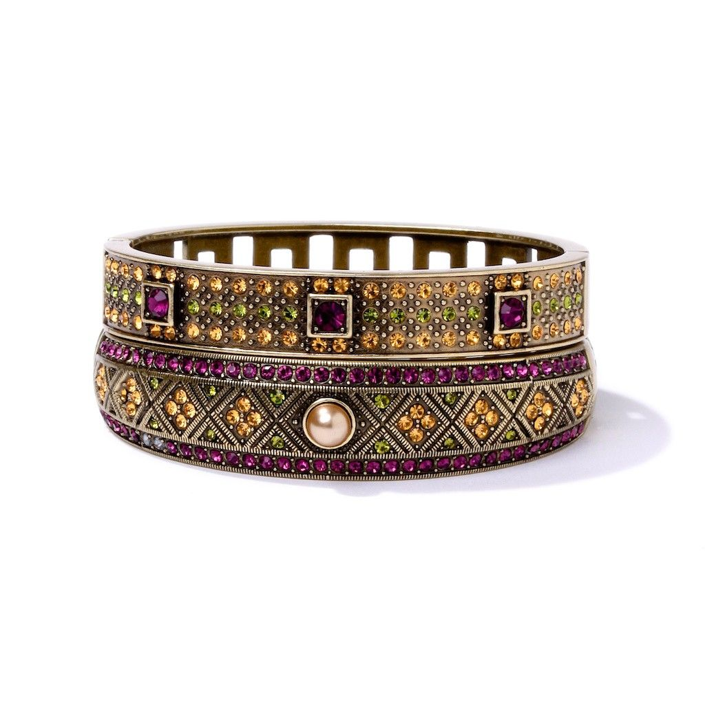 """""""Daily Double"""" Bangle Set -- Shop online at Heidi Daus through Zoola and get cash back!"""