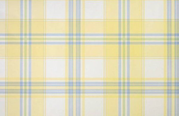 Soft Yellow Blue Plaid Wallpaper Double Roll Bolts Plaid Wallpaper Blue Plaid Wallpaper