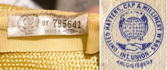 Dating vintage clothing union labels