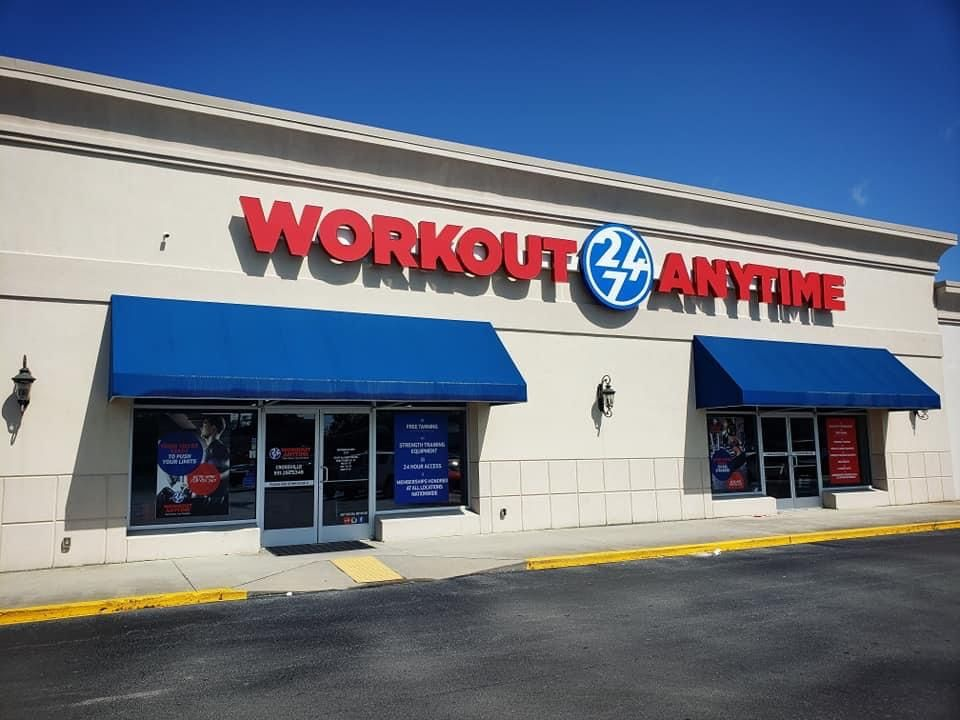 Crossville Tennessee Anytime Fitness Small Group Training Strength Training Equipment