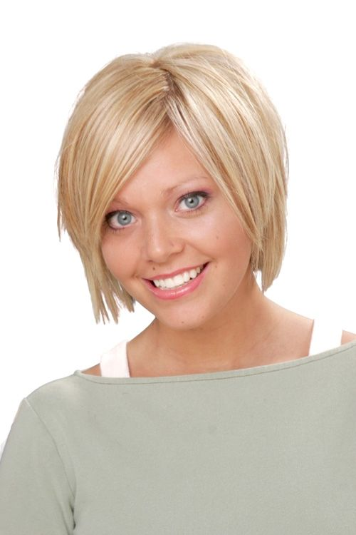 40 Super Cute Looks with Short Hairstyles for Round Faces | Short ...
