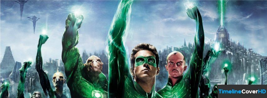 Green Lantern 2 Facebook Timeline Cover Covers