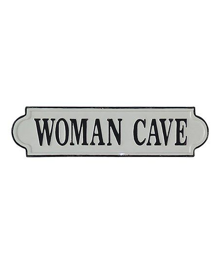 Photo of Cheungs Rattan Imports Woman Cave Lacquered Wall Sign   zulily