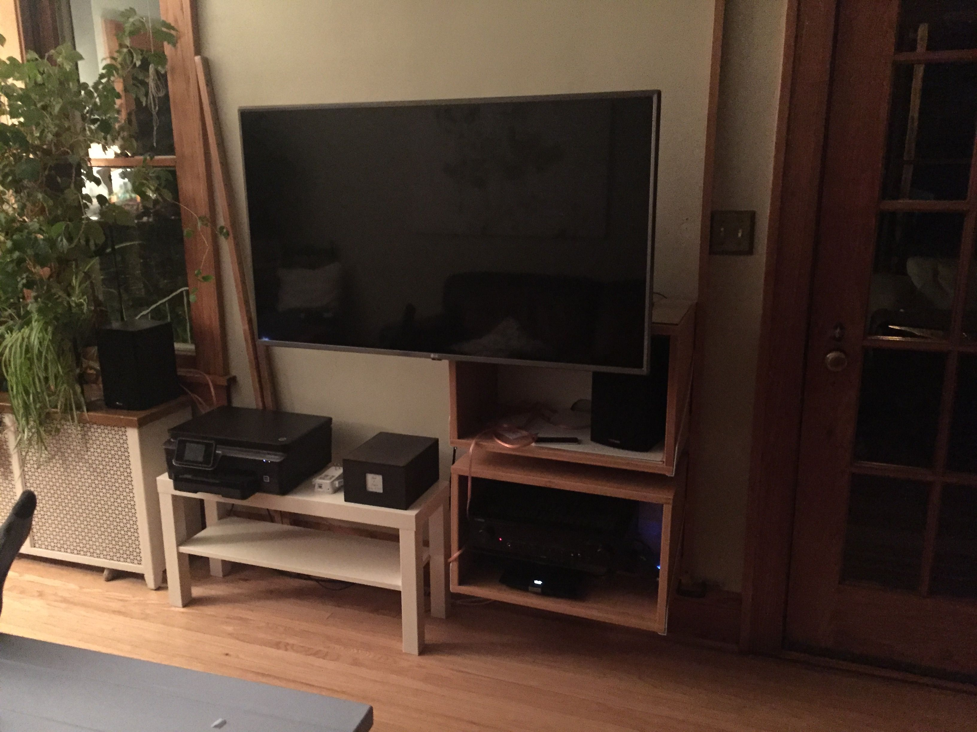 Ikea svalnas wall solution media wall tv entertainment center