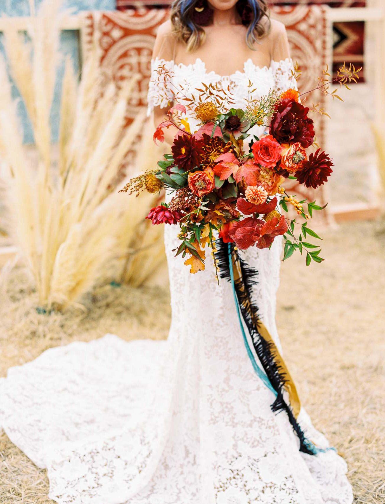 Sultry Southwestern Edgy Meets Bold Boho Wedding Inspiration