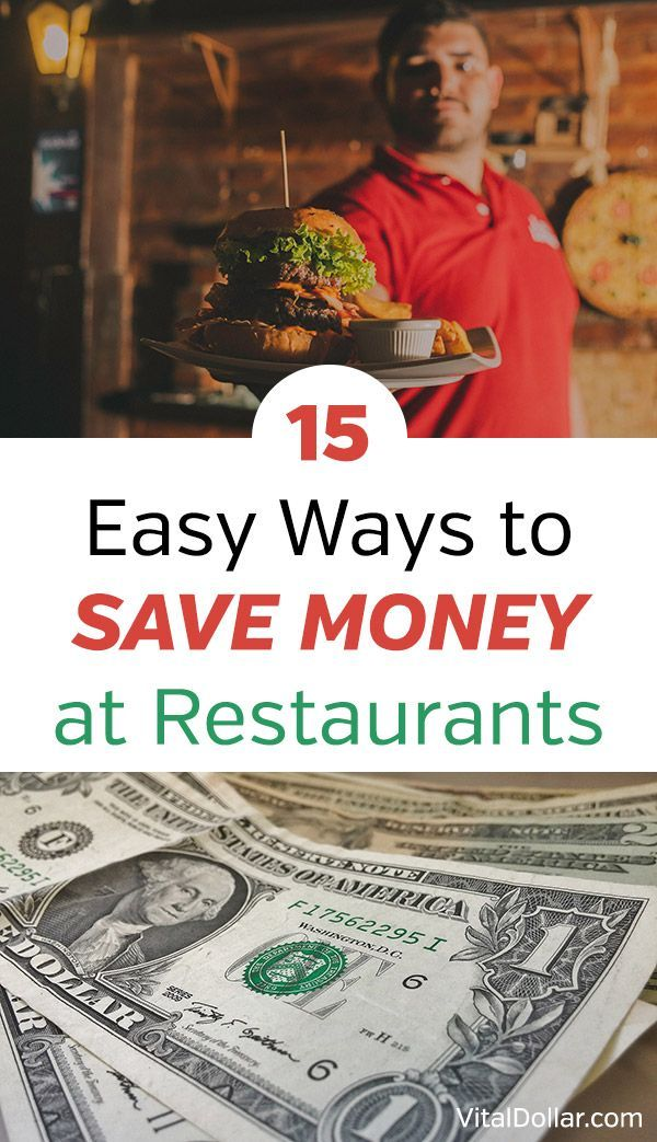 15 easy ways to save money at restaurants frugal living tips to spend less eating out with your family and decrease the amount in your budget for food