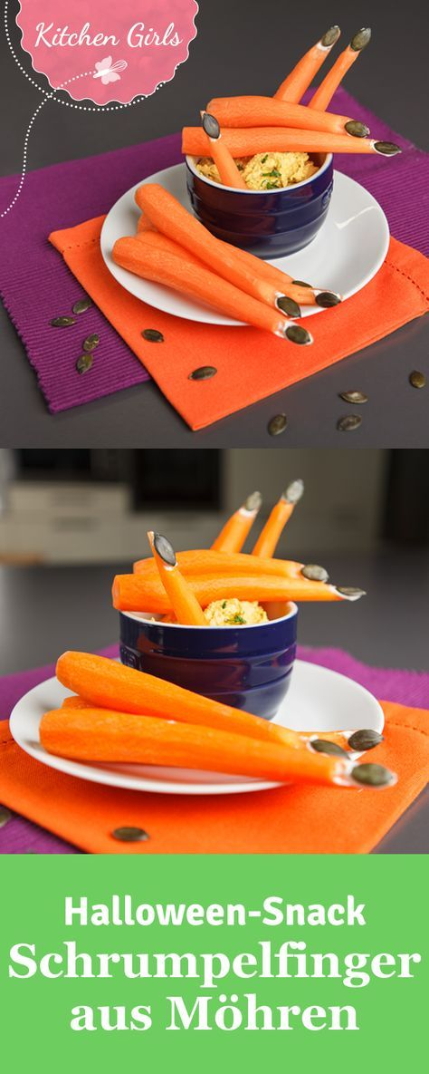 Photo of Recipe for carrot fingers for Halloween