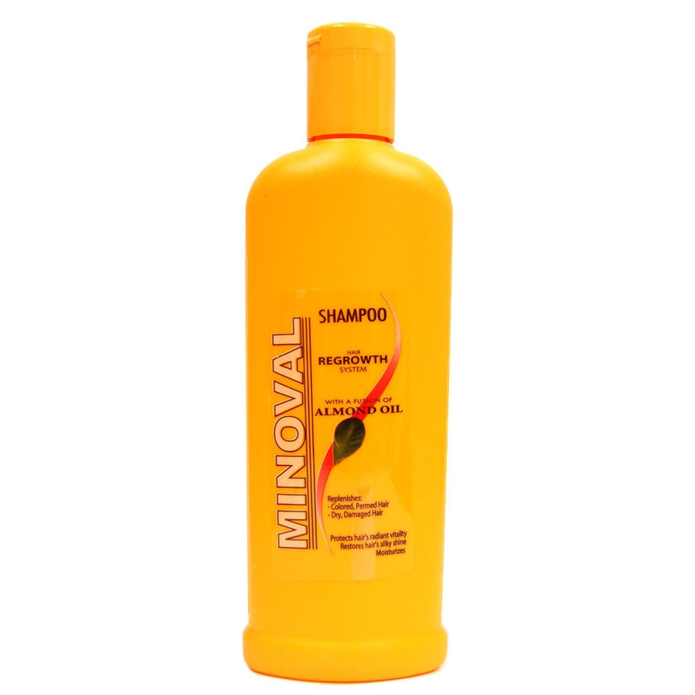 Minoval Hair Regrowth System Shampoo With Almond Oil 8oz