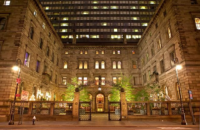 The New York Palace Hotel In Manhattan