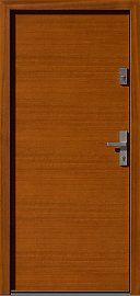 Classic wooden exterior door model 500B in color …