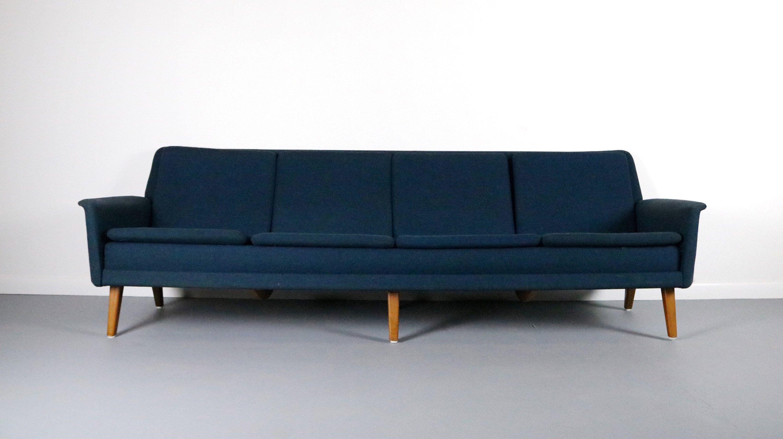 RARE Folke Ohlsson & Fritz Hansen 4 Seat Sofa Denmark in 2018