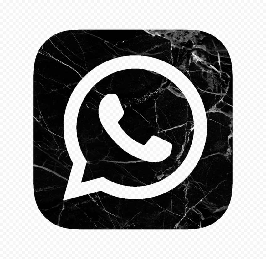Hd Black White Marble Aesthetic Whatsapp Wa Logo Icon Png Picture Icon Black And White Marble Marble Iphone Wallpaper