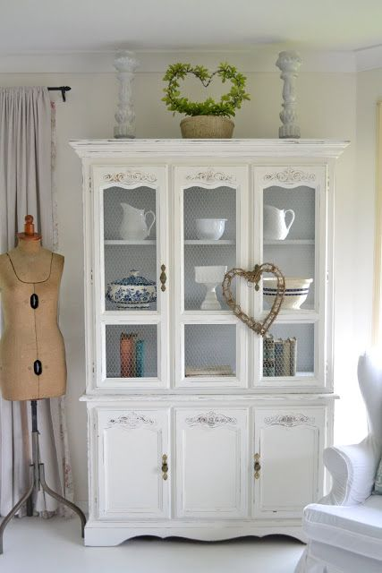Paint Me White White Hutch I really REALLY love some of the