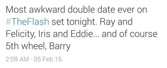 Double date on The Flash
