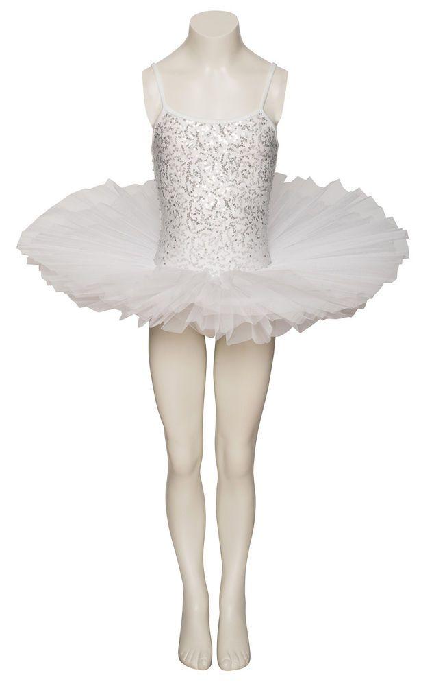 bc1d0d07d eBay #Sponsored White Sparkly Tutu With Silver Sequins Dance Ballet Costume  Tutu Katz Dancewear
