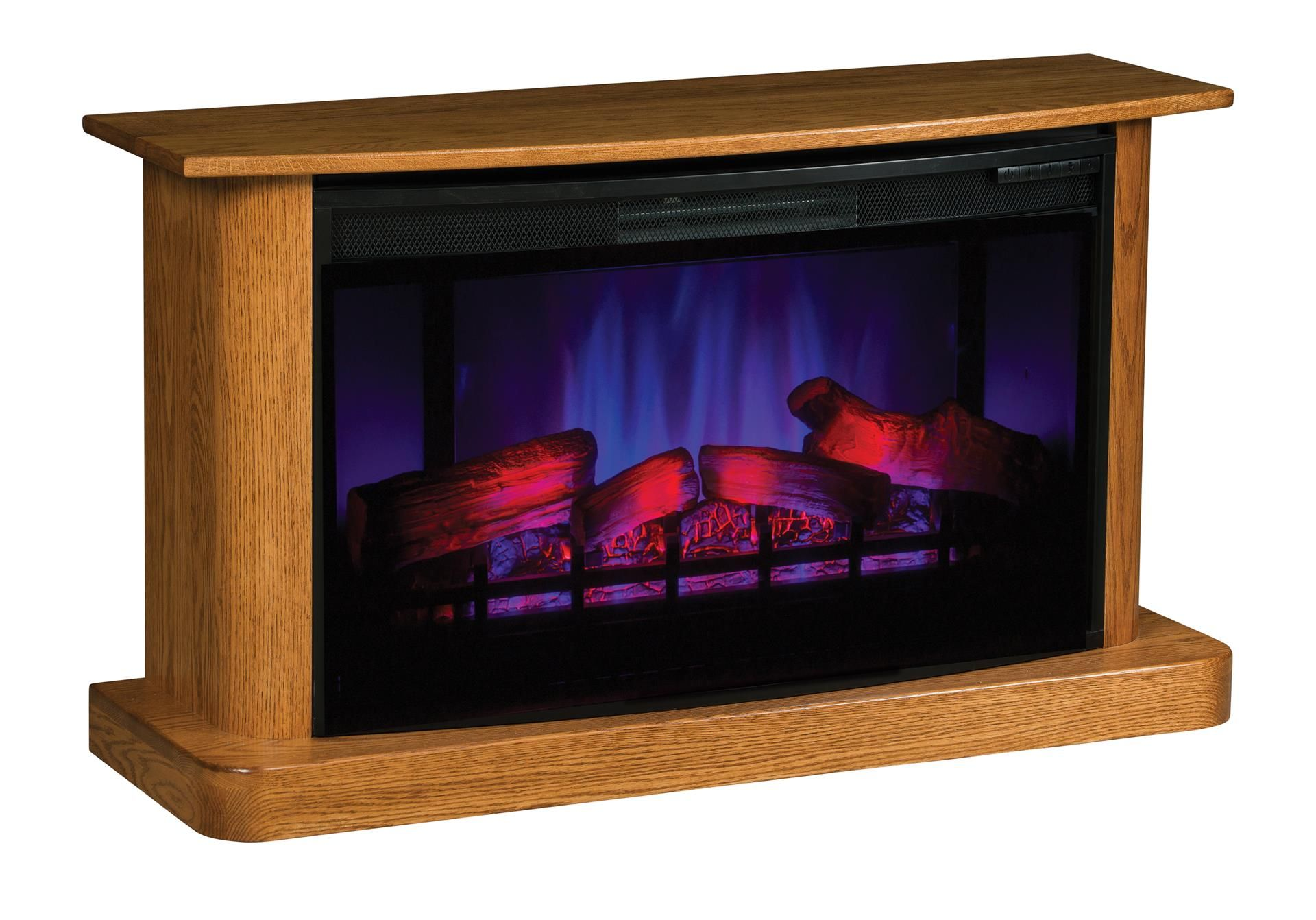 amish electric fireplace with remote