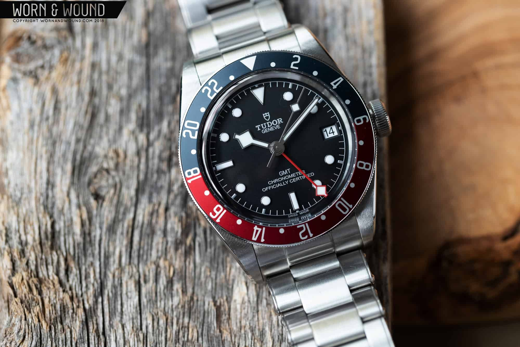 Review Tudor Black Bay Gmt Worn Wound Tudor Black Bay Black Gmt