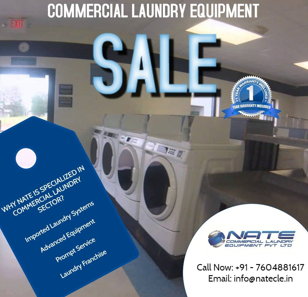 Nate Laundry Is The Sole Distributor Of Lg Commercial Laundry