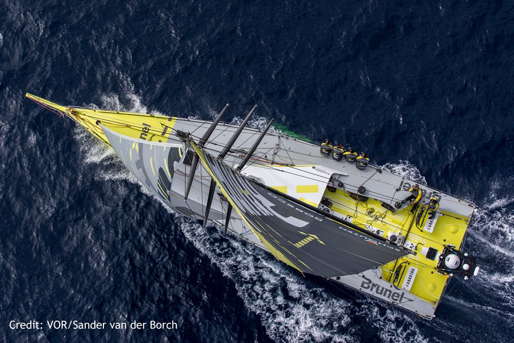 Southern Spars Supplies New Rigs To Volvo Ocean Race Fleet Volvo Ocean Race Volvo Sail World