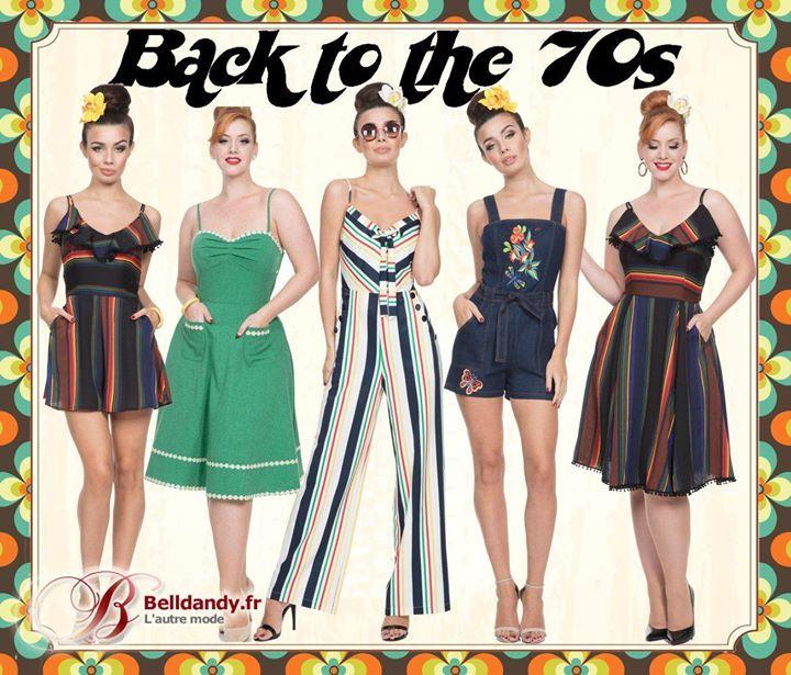 Les Seventies sont de retour avec la nouvelle collection Voodoo Vixen des robes et combinaisons inspirées des années 70