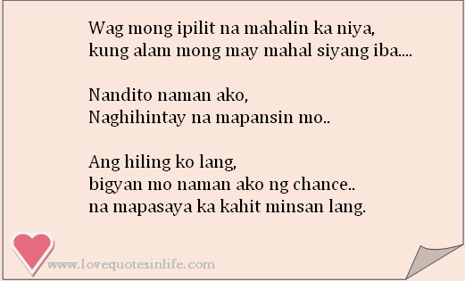 Tagalog Love Quotes For Her Him | Love Quotes In Life