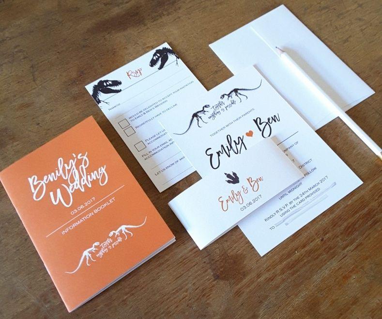 msg for wedding invitation%0A Dinosaur Wedding Invitations