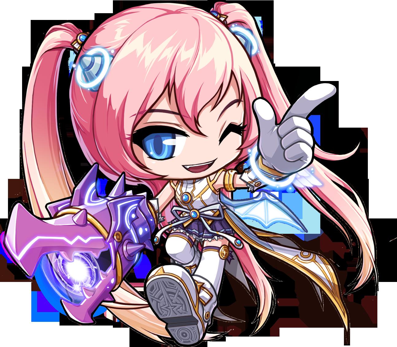 characterconcepts MapleStory Angelic Burster