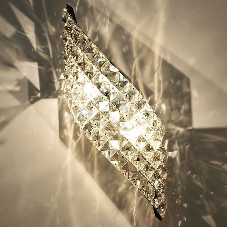 Luxury Crystal Wall Lights : Find More Wall Lamps Information about modern luxury crystal wall lamp,indoor wall light,hotel ...