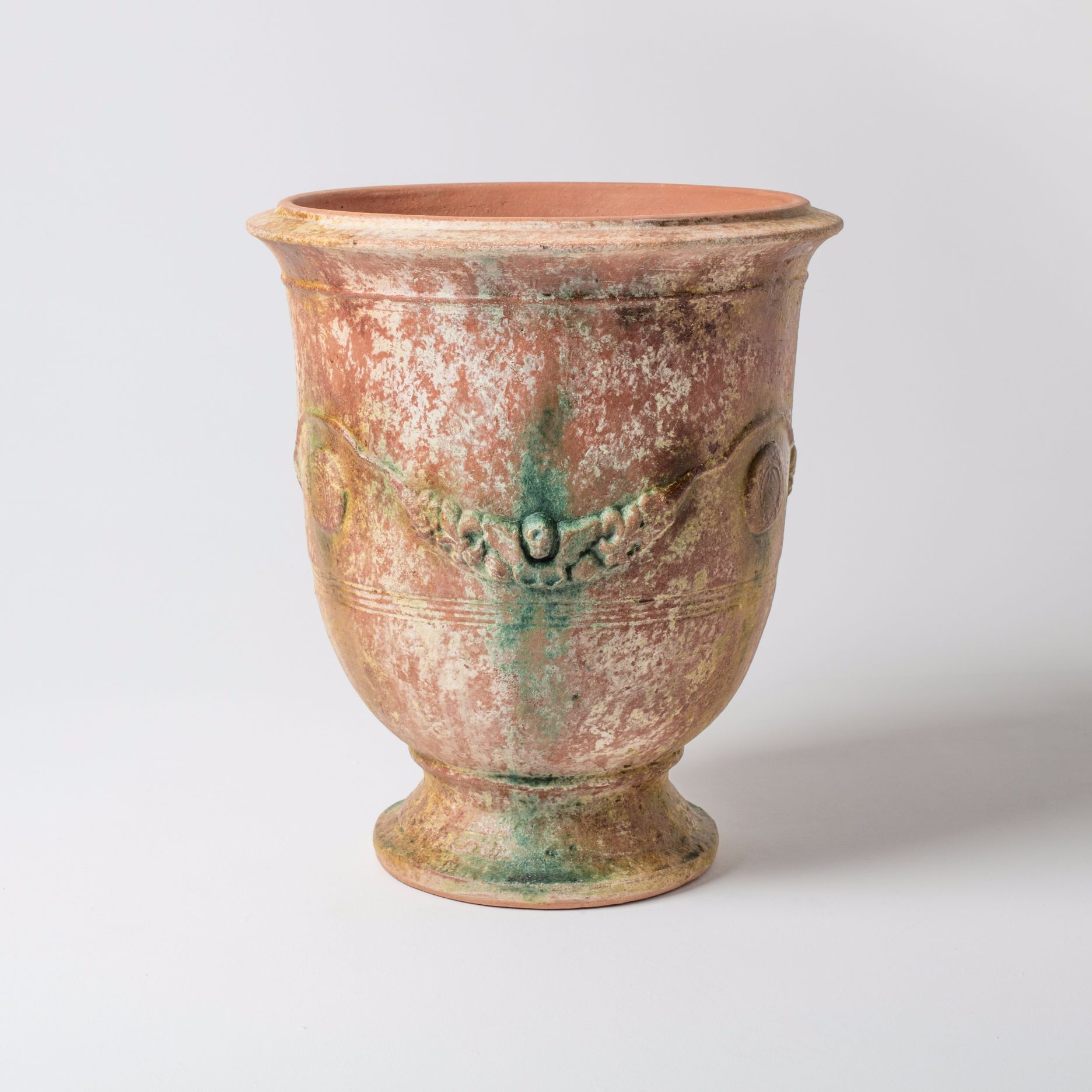 Find Beautiful Ampholia Poterie Anduze Vase Large And Aged Terracotta