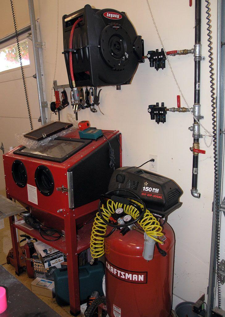 Garage Air Compressor System