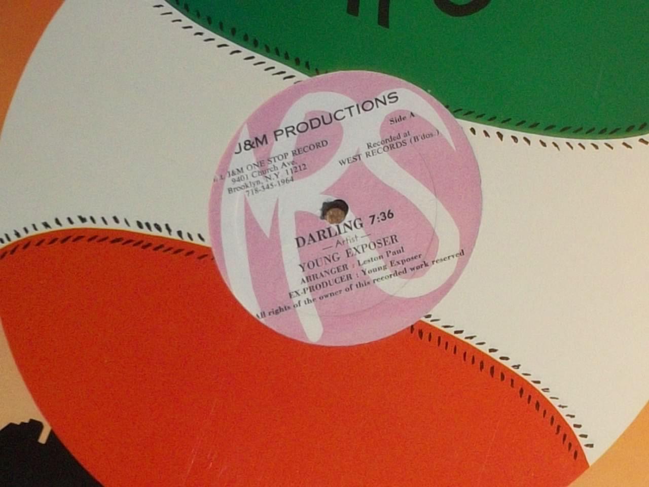 Young Exposer Darling B W Mother Trinbago Sealed Vinyl Reggae Etsy R B And Soul Reggae Darling