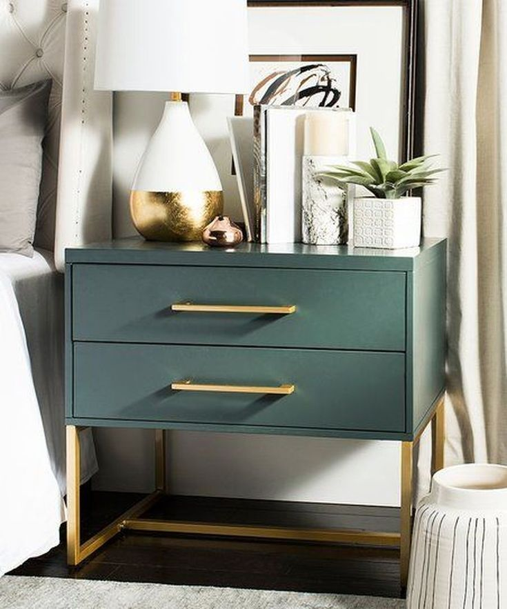 44 Extremely Interesting Nightstand Designs For Your Bedroom