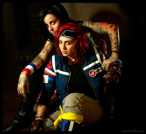 Fun Ghoul And Party Poison This Cosplay Is Awsome Cosplay