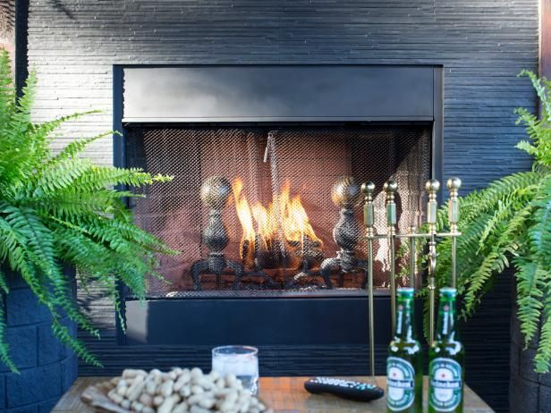 tips for updating an outdoor fireplace fireplace outdoor deck